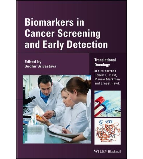 Biomarkers in Cancer Screening and Early Detection -  by Sudhir Srivastava (Hardcover) - image 1 of 1