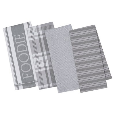 Granite Gourmet Kitchen Dishtowels Set Of 4 - Design Imports