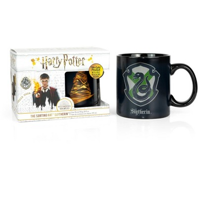 Seven20 Harry Potter Slytherin 20oz Heat Reveal Ceramic Coffee Mug | Color Changing Cup