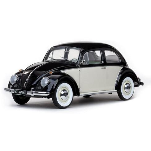1961 Volkswagen Beetle Saloon White Black 1 12 Cast Car Model By Sunstar