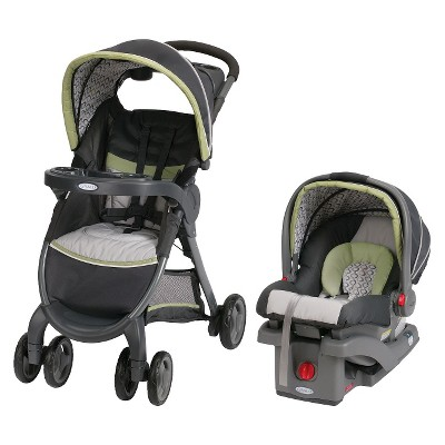 Graco® FastAction Fold® Click Connect™ Travel System - San Marino