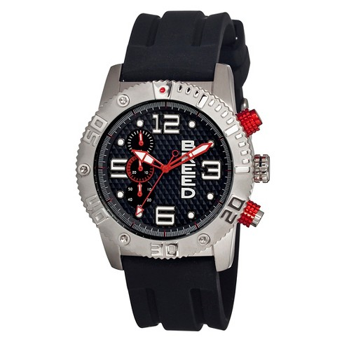 Men's Breed Grand Prix Watch with Silicone Strap - image 1 of 3