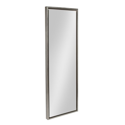 "16"" x 48"" Evans Framed Wall Panel Mirror Silver - Kate and Laurel"