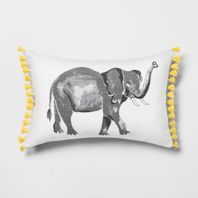 Elephant Lumbar Throw Pillow - Opalhouse™