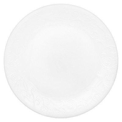 Lunch Plate Embossed Faenza 8.5 x8.5  White- Corelle®
