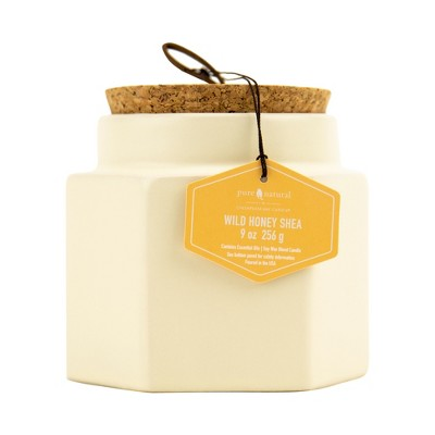 Candles: Chesapeake Bay Hexagon Ceramic Jar