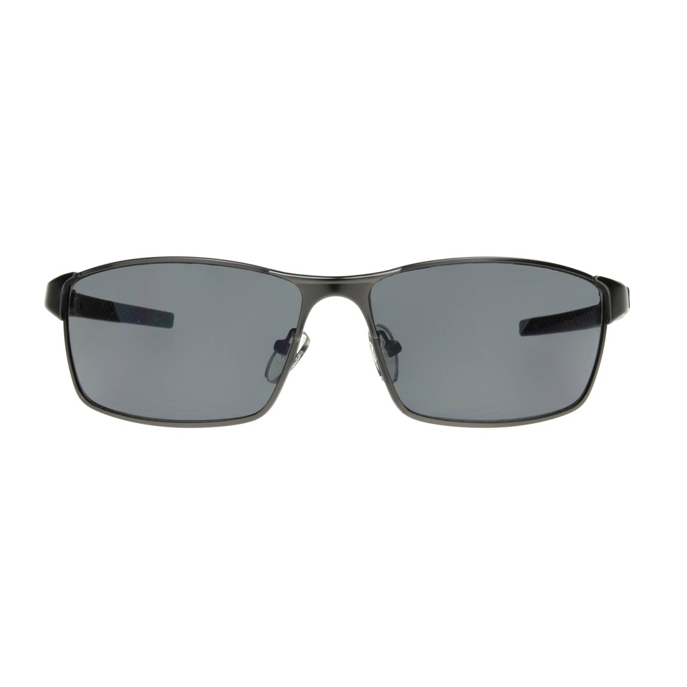 Image of Iron Man Men's Rectangle Sunglasses - Gray, Size: Small