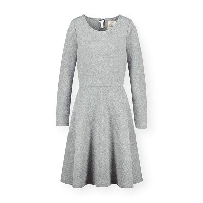 Hope & Henry Womens' Quilted Matelasse Dress