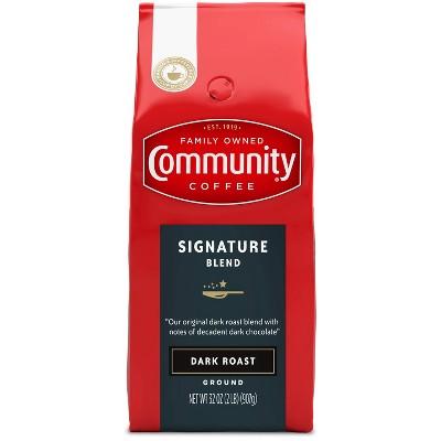 Community Coffee Signature Blend Dark Roast Ground Coffee - 32oz