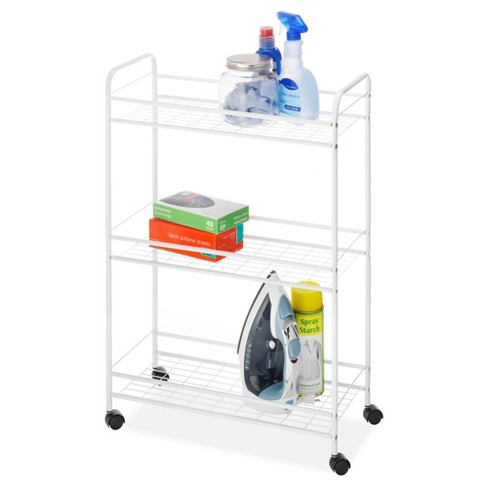 Whitmor Slim Household Utility Cart - White - image 1 of 2