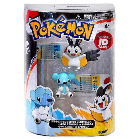 Pokemon Black and White Basic Cubchoo vs. Emolga Figure 2-Pack - image 1 of 1
