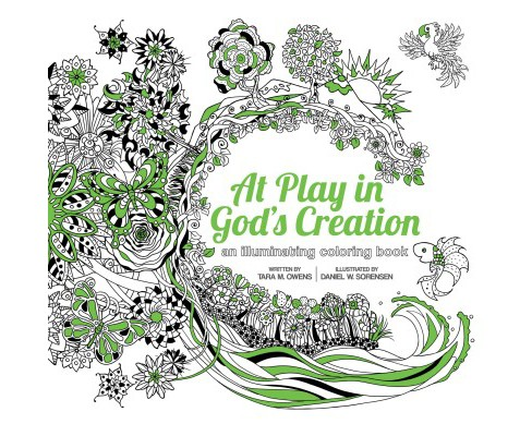 At Play in God's Creation : An Illuminating Coloring Book. - image 1 of 1