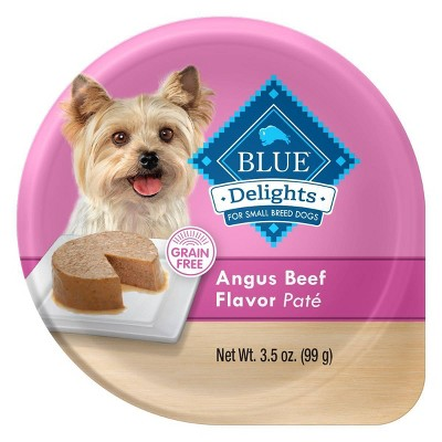 Blue Buffalo Delights Wet Dog Food for Small Breed Dogs  - 3.5oz