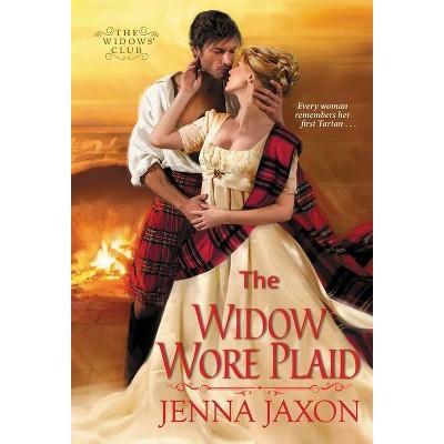 The Widow Wore Plaid - by  Jenna Jaxon (Paperback)
