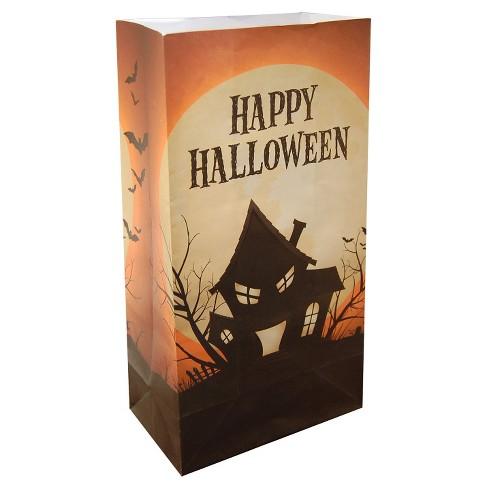 24ct Luminaria Bags- Haunted House - image 1 of 3