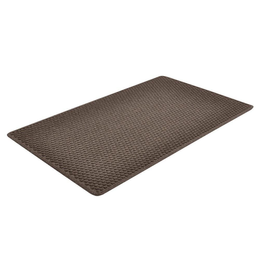 Image of Charcoal (Grey) Solid Doormat - (2'X3') - HomeTrax