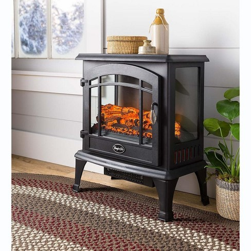 Plow & Hearth - Indoor Panoramic Quartz Infrared Electric Stove Heater - image 1 of 4