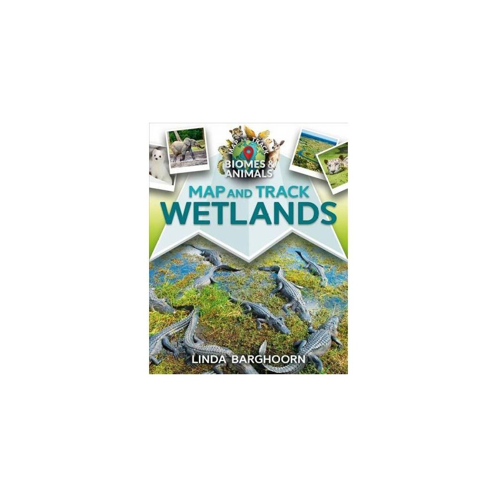 Map and Track Wetlands - (Map and Track Biomes and Animals) by Linda Barghoorn (Paperback)