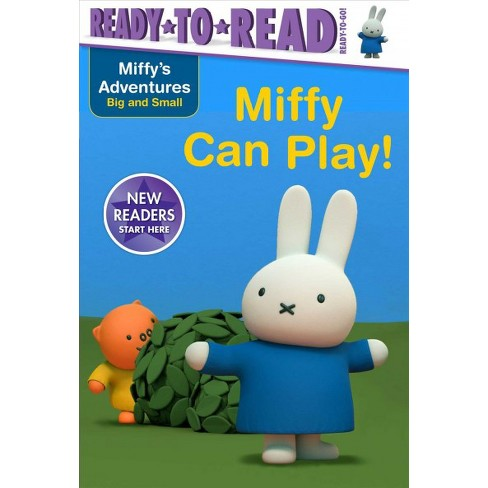 Miffy Can Play! - (Miffy's Adventures Big and Small) by  R J Cregg (Paperback) - image 1 of 1