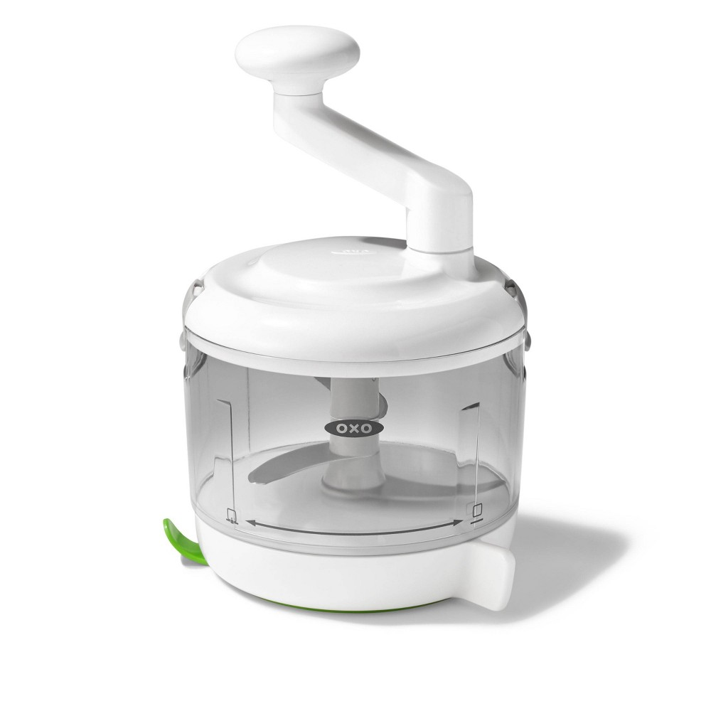 Image of OXO One Stop Chop, White, manual food choppers