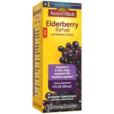 Nature Made Elderberry Syrup - 4 fl oz
