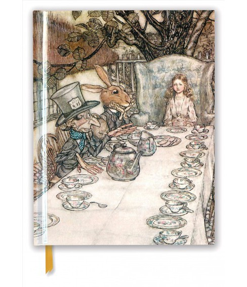 Rackham Blank Sketch Book : Alice in Wonderland Tea Party -  New (Paperback) - image 1 of 1