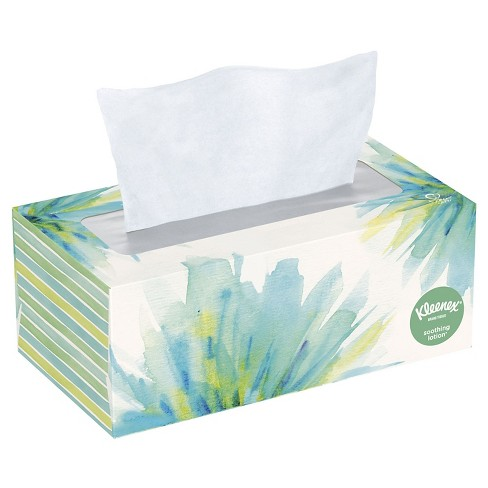 Kleenex Soothing Lotion Facial Tissue - 120ct - image 1 of 9