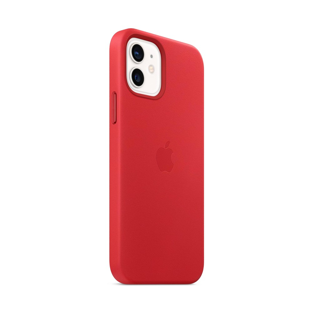 Apple Iphone 12 12 Pro Leather Case With Magsafe Product Red