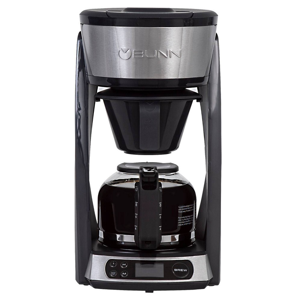 Image of BUNN Heat N' Brew 10 Cup Programmable Coffee Maker - Black