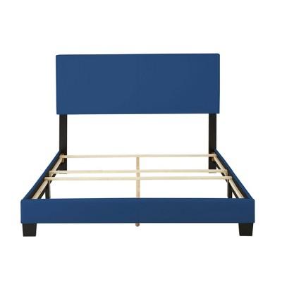 Langley Faux Leather Upholstered Platform Bed Frame - Eco Dream