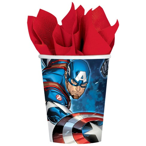 16ct Amscan Epic Avengers 9oz Paper Cup - image 1 of 1