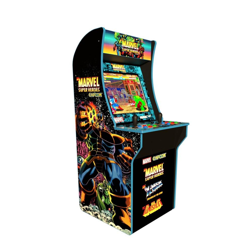 Arcade 1UP Marvel Superheros 4 Ft Machine Arcade 1UP Marvel Superheros 4 Ft Machine Color: Black. Gender: unisex.