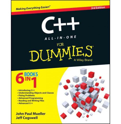 C++ All-in-One for Dummies (Paperback) (John Paul Mueller & Jeff Cogswell) - image 1 of 1