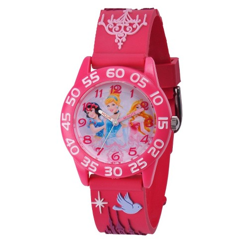 Kid's Disney® Princess Watch - Peach - image 1 of 1