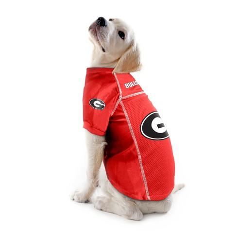 innovative design f811f e4637 Georgia Bulldogs Mesh Dog Football Pet Jersey Pets First ...
