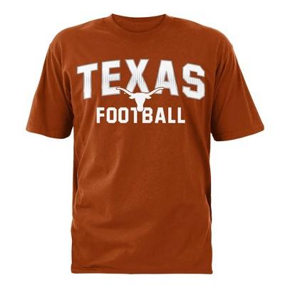 NCAA Texas Longhorns Men's Short Sleeve Football T-Shirt