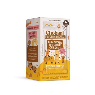 Chobani Super Peanut Blend Plain - 1.1oz/6pk