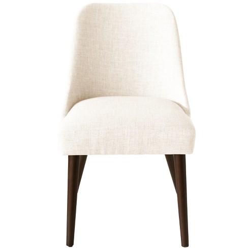 Geller Modern Dining Chair Off White Linen Project 62 Target