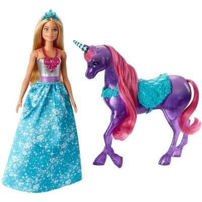 Barbie Dreamtopia Princess & Unicorn Fashion Doll