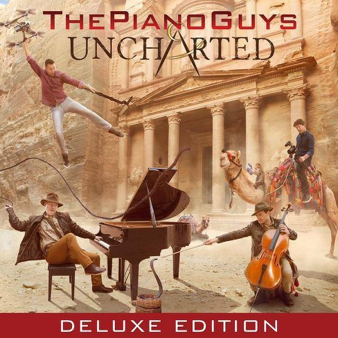 Piano Guys (The) - Uncharted (CD) - image 1 of 1