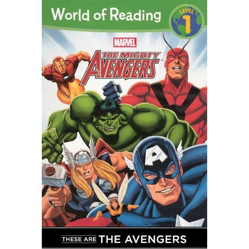 These Are the Avengers - (Mighty Avengers (Pb)) by  Thomas Macri (Hardcover) - image 1 of 1