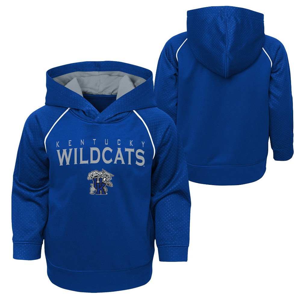 Kentucky Wildcats Boys' Long Sleeve TC Poly Hoodie - L, Multicolored