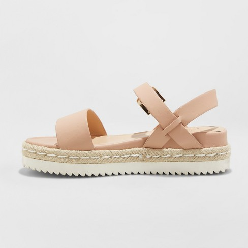 b2cbb6ac480 Women s Rianne Espadrille Ankle Strap Sandals - A New Day™   Target