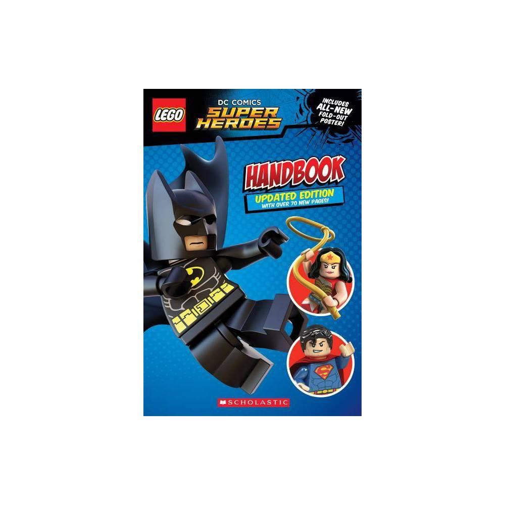 Image of Lego DC Superheroes Handbook - (Lego DC Super Heroes) by Greg Farshtey (Paperback)