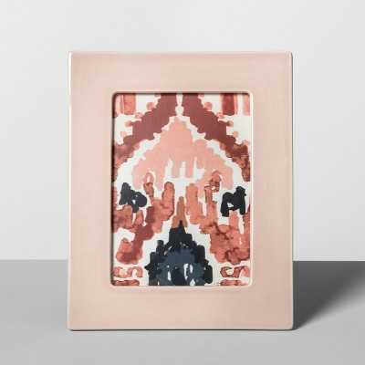 Crackle Ceramic Frame Pink 5  x 7  - Opalhouse™