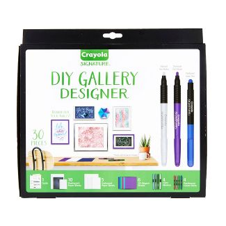 Crayola 30pc DIY Gallery Wall Art Set and Origami Kit