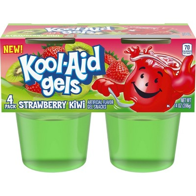 Kool-Aid Strawberry Kiwi Gelatins - 4pk/13.5oz