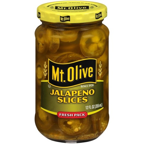 Mt. Olive Jalapeno Slices - 12oz - image 1 of 4