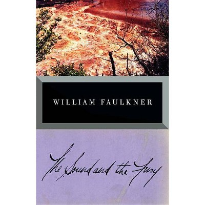 The Sound and the Fury - (Vintage International) by  William Faulkner (Paperback)