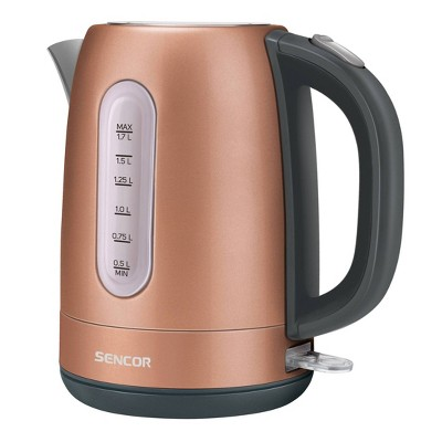 Sencor 1.7L Stainless Electric Kettle - Gold